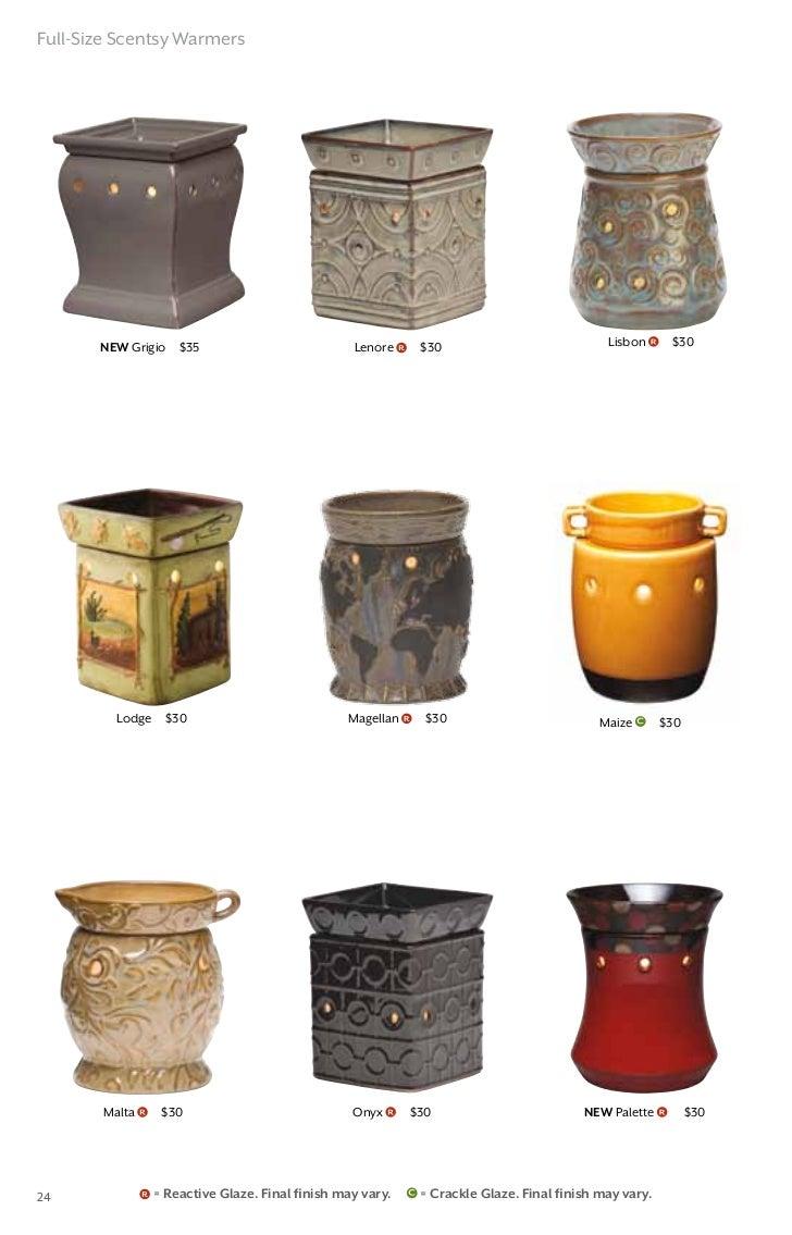 scentsy fall winter catalog 2012