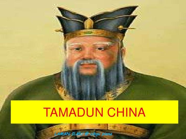 TAMADUN CHINA LAMAN ILMU @ cikgu piena