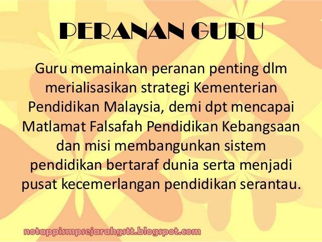 falsafah pendidikan kebangsaan 2 falsafah pendidikan kebangsaan (fpk): huraian dan penghayatan: bentuk, proses dan matlamat pendidikan di malaysia dan elemen-elemen dalam.
