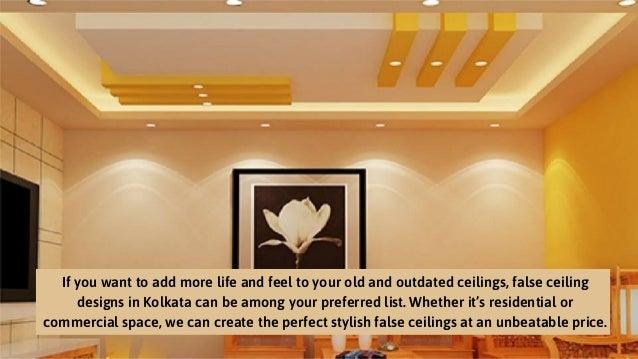 False Ceiling Design In Kolkata