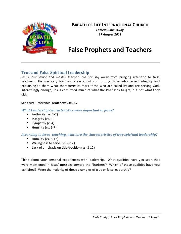BREATH OF LIFE INTERNATIONAL CHURCH                                                Latreia Bible Study                    ...