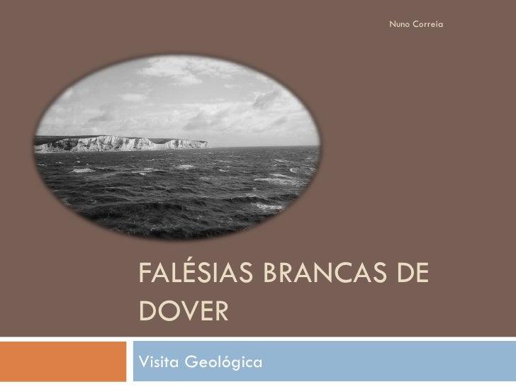 Nuno Correia     FALÉSIAS BRANCAS DE DOVER Visita Geológica