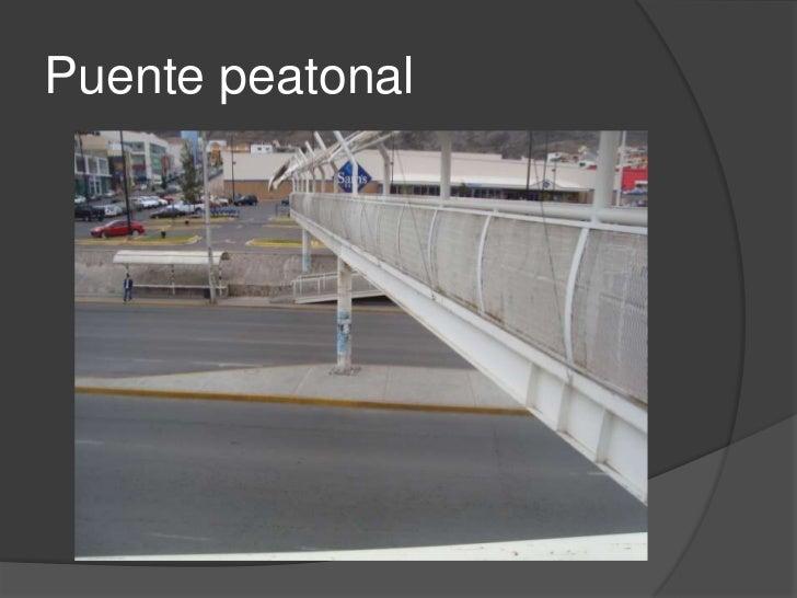 Falta de uso de los puentes peatonales Slide 2
