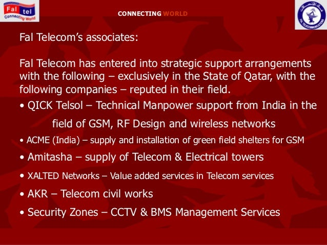 Fal Telecom Qatar Profile