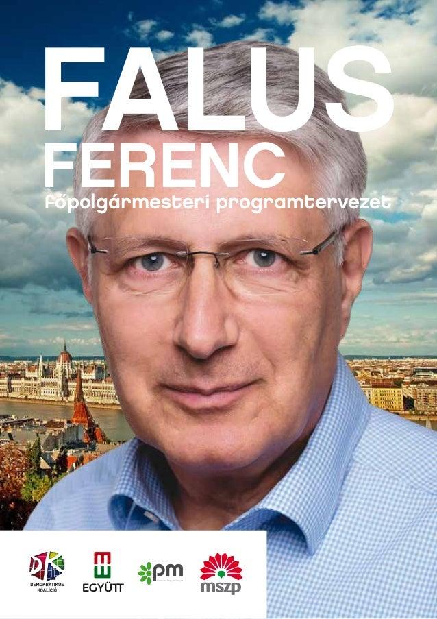 FALUS  FERENC  fo˝polgármesteri programtervezet