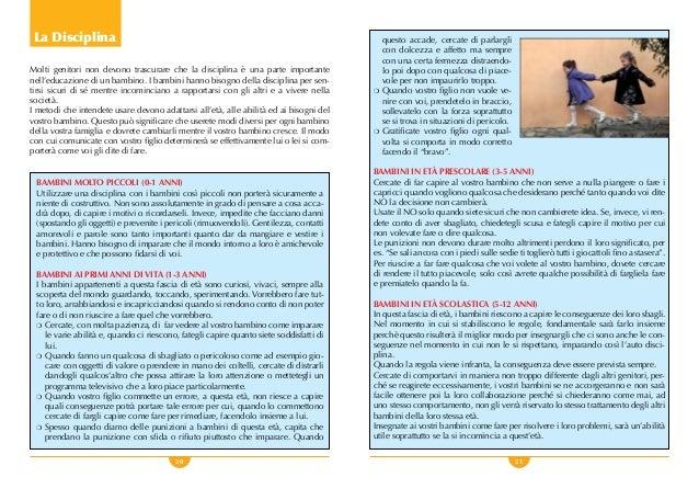 20 21 La Disciplina Molti genitori non devono trascurare che la disciplina è una parte importante nell'educazione di un ba...