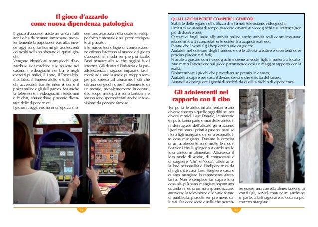 30 31 Il gioco d'azzardo come nuova dipendenza patologica Il gioco d'azzardo esiste ormai da molti anni e ha da sempre int...