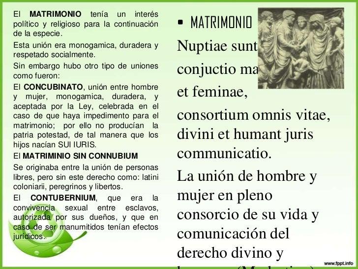Diferencias Entre Matrimonio Romano Y Actual : La familia en roma