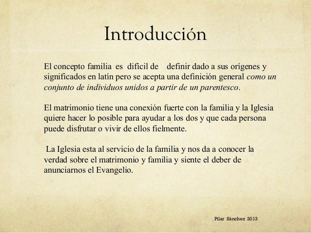Analisis Del Matrimonio Romano Y El Actual : Resumen de la encíclica sobre familia