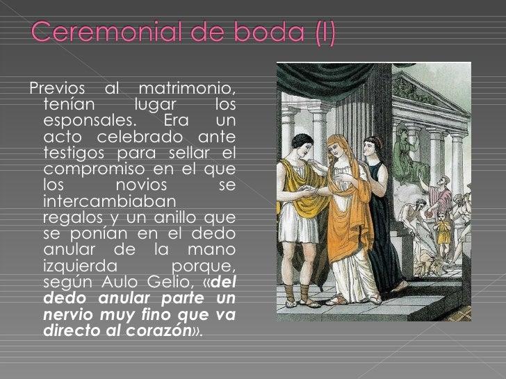 Matrimonio Romano Segun Bonfante : Familia educación romana