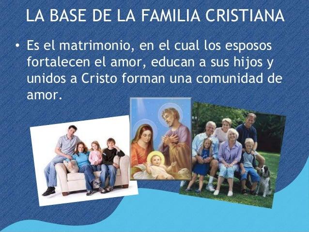 Resultado de imagen de la familia cristiana