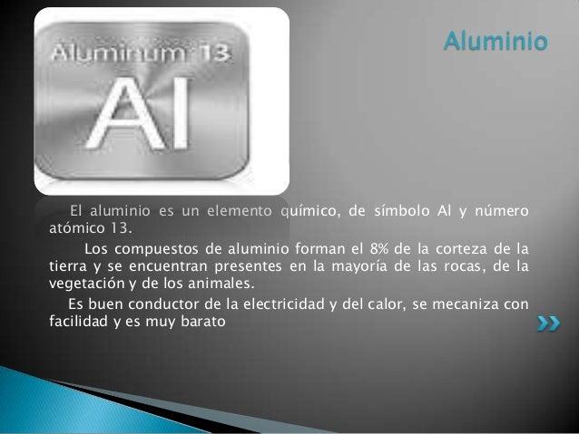 Familia del boro - Simbolo de aluminio ...