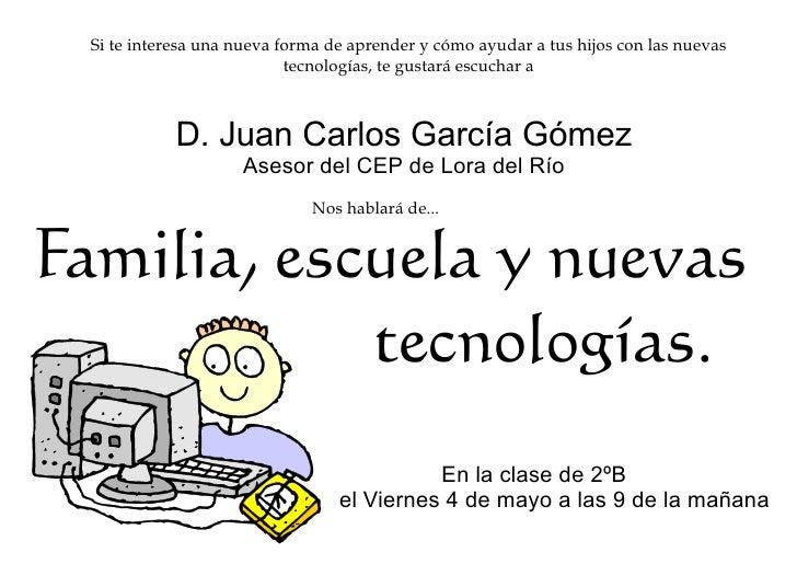 Familia, escuela y nuevas tecnologías