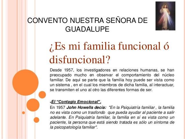 Familia funcional y familia disfuncional for Tipos de familia pdf