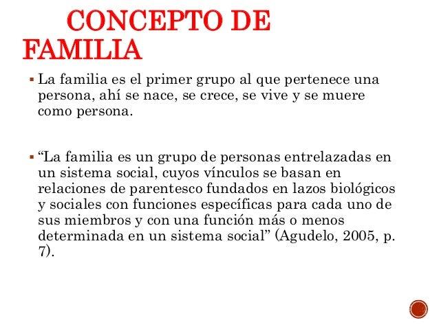 Familia din micas y estructura for Concepto de la familia para ninos