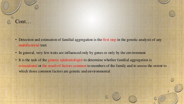 Good ... Environmental 7; 7. Methods In Familial ...