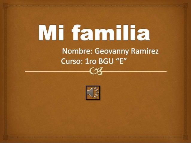  Yovanny Ramírez(Papá)
