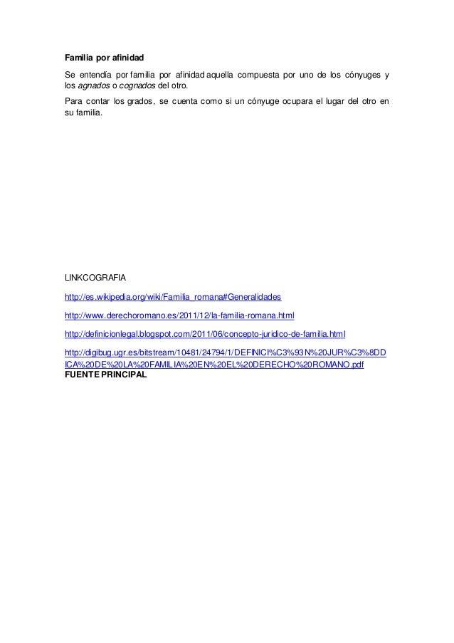 Familia romana for Concepto de familia pdf