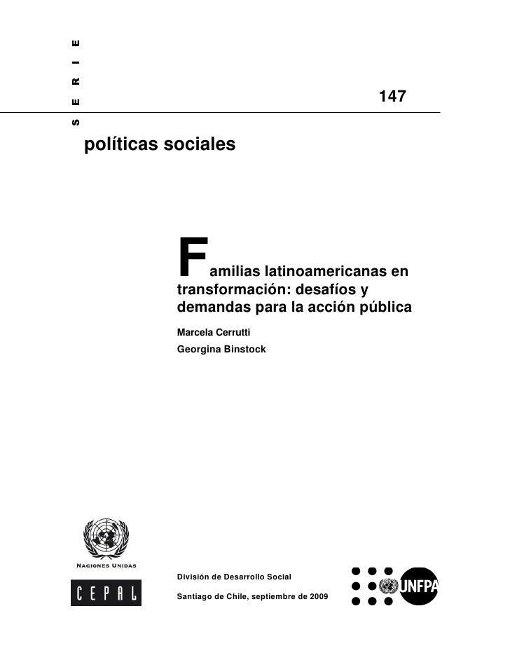 E I R                                                         147 E S         políticas sociales                    F    a...