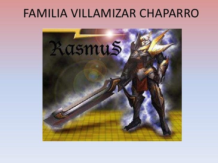 FAMILIA VILLAMIZAR CHAPARRO<br />