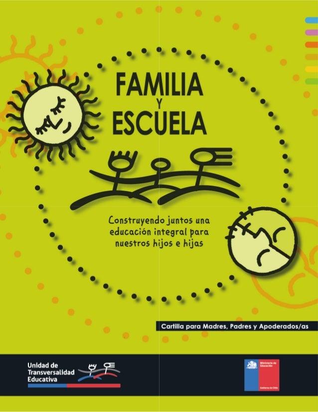 Familia y escuela 2012