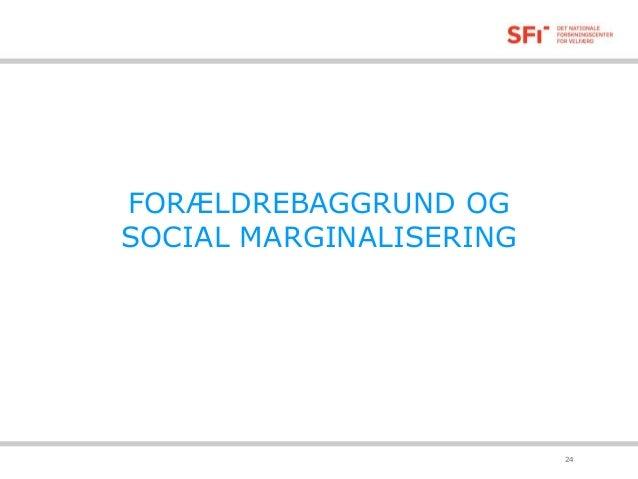 marginalisering