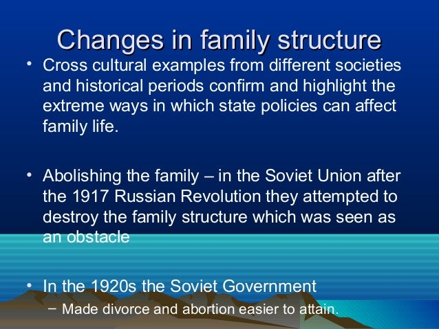 comparing the american family structure and function in 1960s and 1990s Cit 071807 compare and contrast traditional and modern families since the nineteenth century function is when the couple in a family family structure.