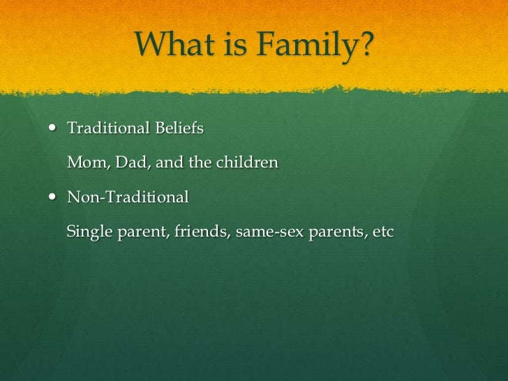 families in a diverse society The growing complexity and diversity of families the share of children living in a two-parent household is at the lowest point in more than half a century: 69% are in this type of family arrangement today, compared with 73% in 2000 and 87% in 1960.