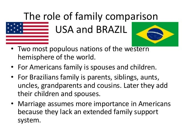 importance of the extended family system