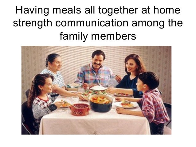 the parents should teach children of good eating habits But to teach good habits, parents should try to have a family dinner every evening around the same time family dinners nurture feelings of bonding in a child while eating, talk to the kids.