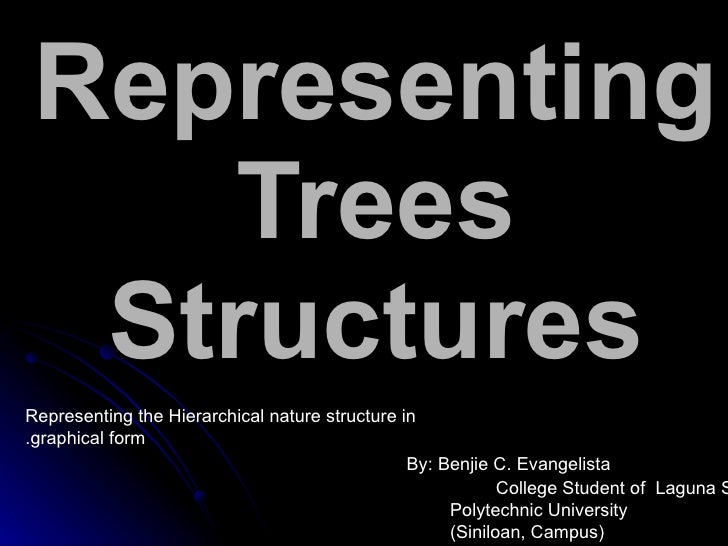 Representing     Trees   Structures Representing the Hierarchical nature structure in .graphical form                     ...