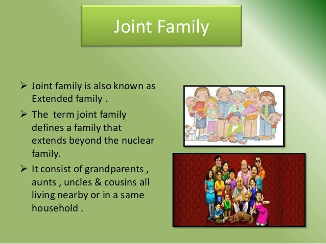 joint family vs nuclear family essay in hindi