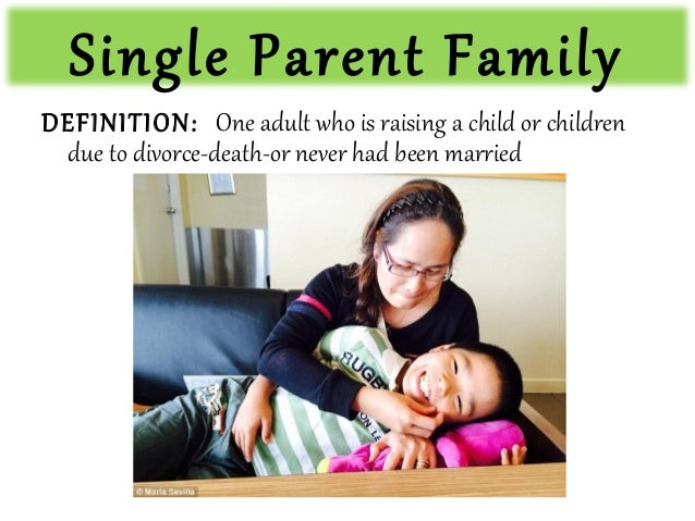 causes and effects of single parenthood