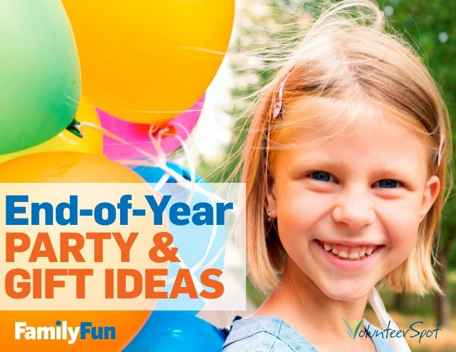 End-of-Year PARTY & GIFT IDEAS