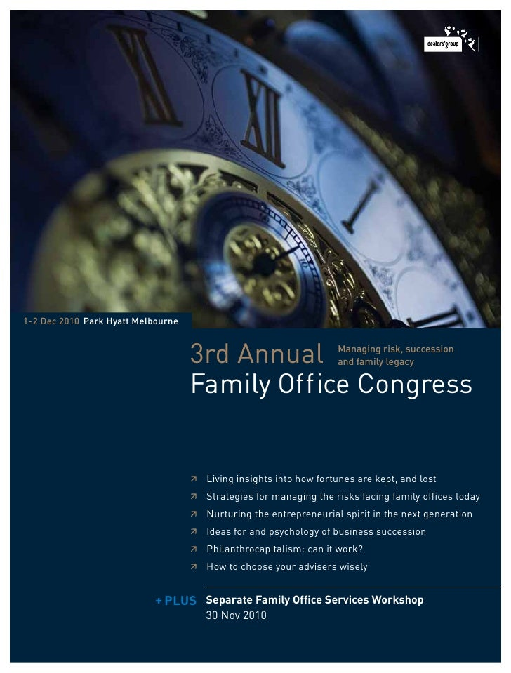 Third Annual Family Office Congress
