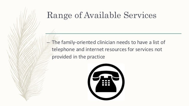 Range of Available Services – A clinician can rent out space in the office, either when open or closed, to organizations t...
