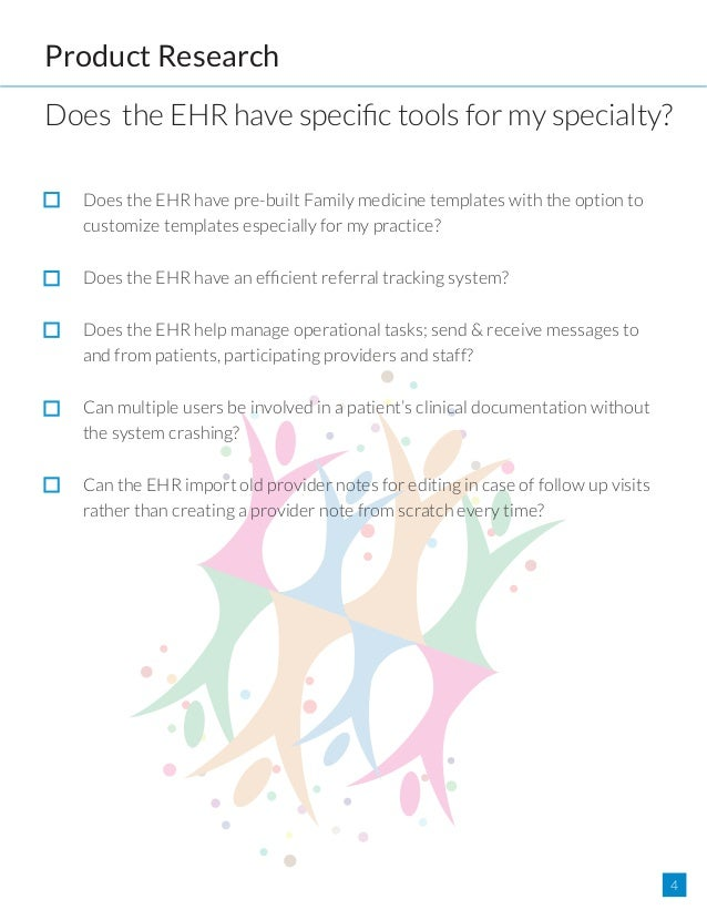 Any Ehr Will Work For Family Medicine