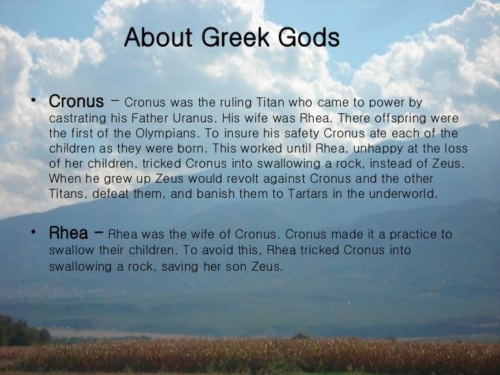 Family Tree Of Greek Gods