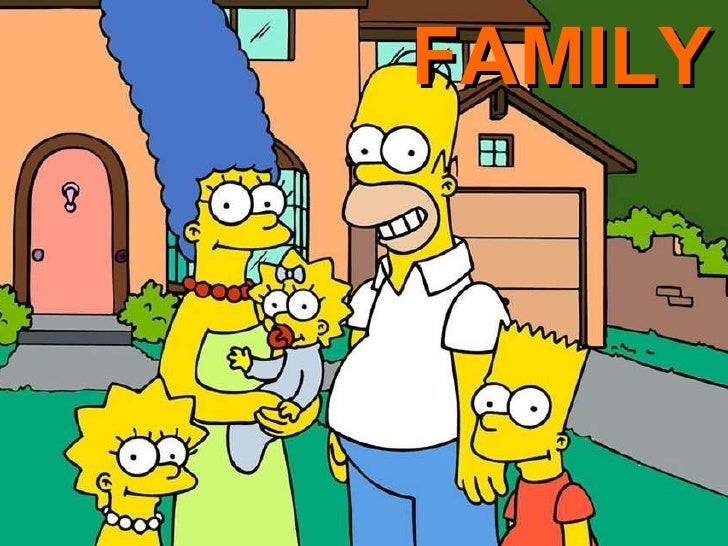 FAMILY THE SIMPSONS FAMILY