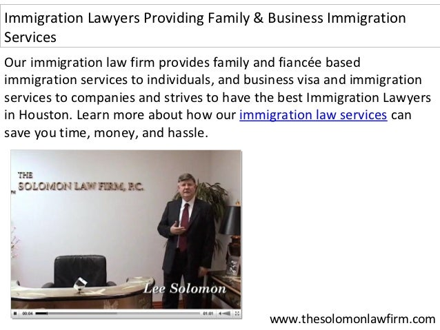 Family And Business Immigration Lawyer And Visa Services In Houston, …