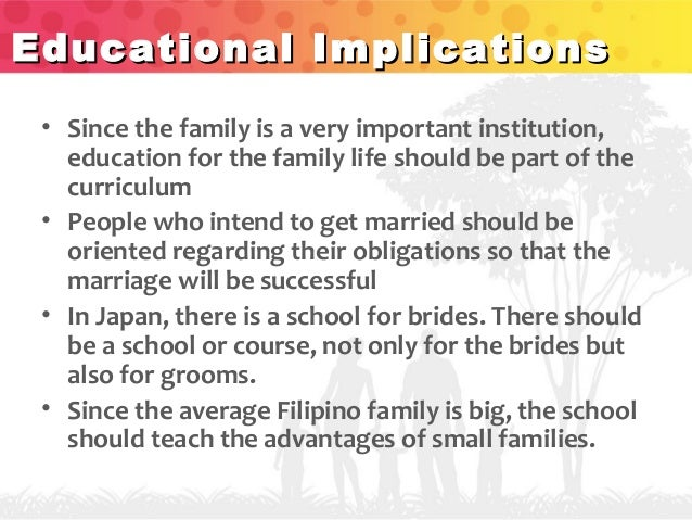 functions of the family and education However, despite these structural changes, the social functions of the family have reproduction, the economic function, the education as socialization of children.