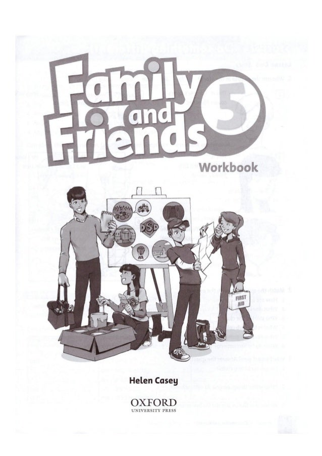 friends workbook решебник