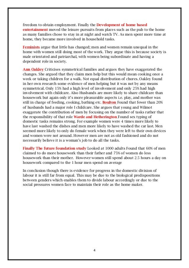 family and households revision booklet  4