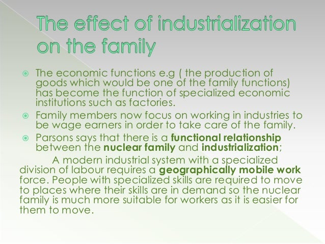 industrial nuclear family