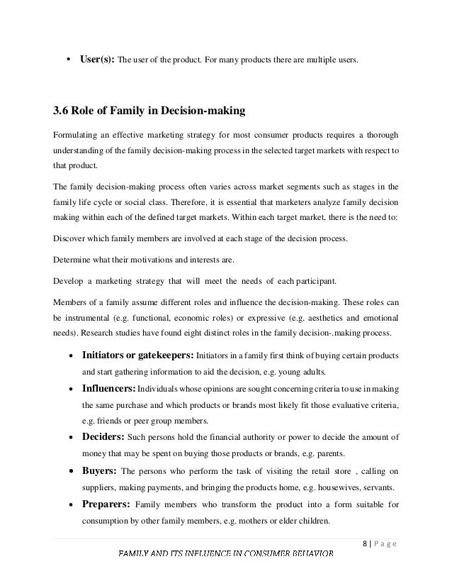 decision making with impact essay