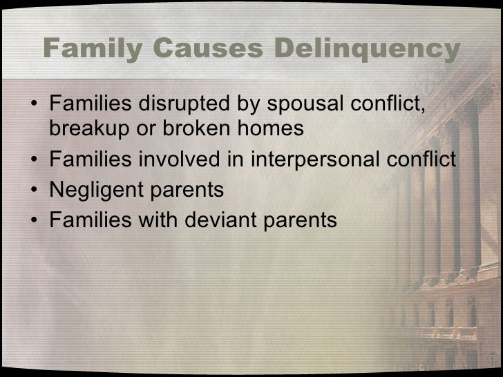 causes and solutions of juvenile delinquency Running head: juvenile delinquency: an investigation 1 juvenile delinquency: an investigation of risk factors and solutions.