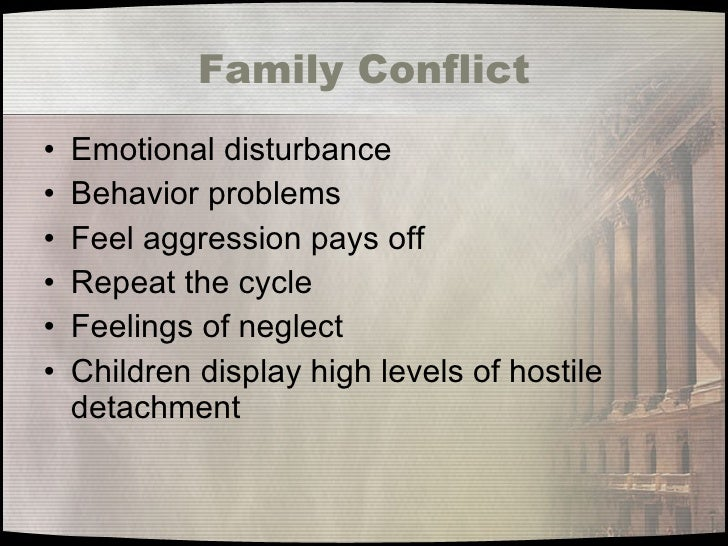 Family effects on juvenile delinquency