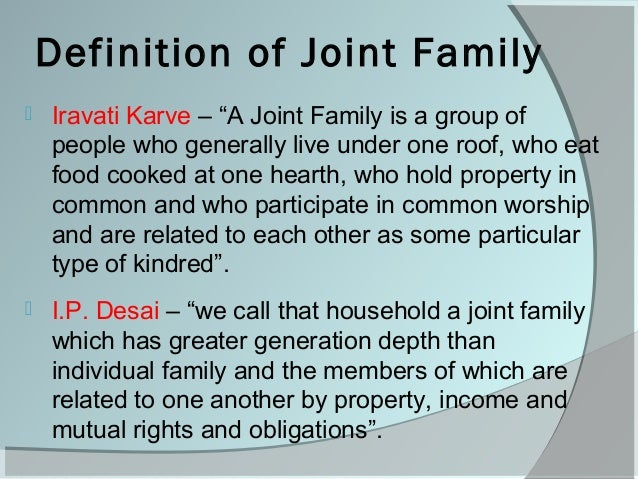 defintion of family As a researcher, i claim to study families but if you were to ask me for a definition  of family, i would probably get tongue-tied and mumble something like, well,.