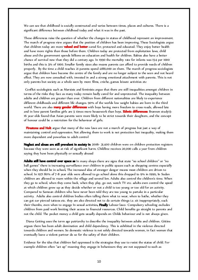 family as model essays revision booklet 24m 9 10