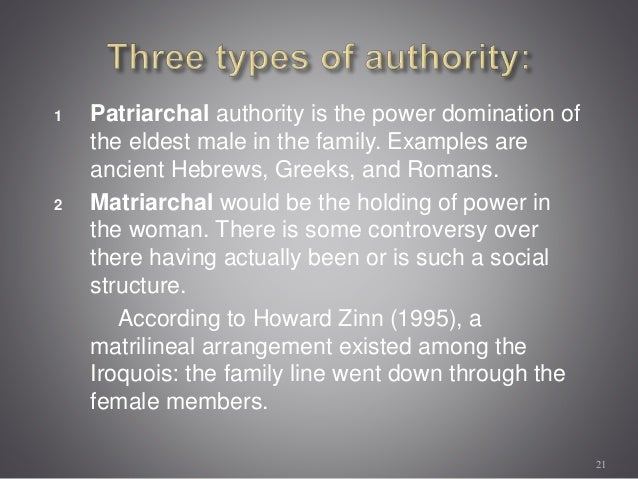 types of power in family